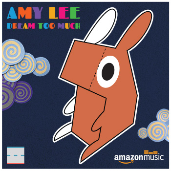 Amazon Music Amy Lee Dream Too Much Bunny Paper Foldables paper toy
