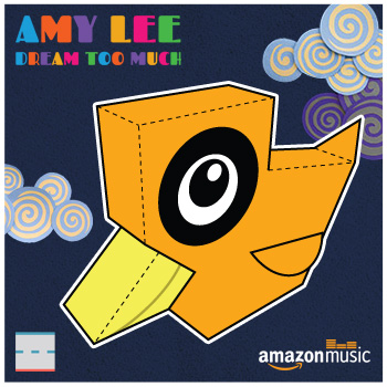 Amazon Music Amy Lee Dream Too Much Duck Paper Foldables papercraft paper toy