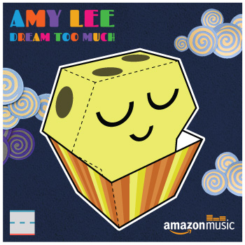 Amazon Music Amy Lee Dream Too Much Muffin Paper Foldables papercraft paper toy